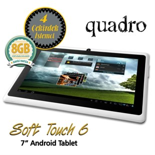 Quadro Soft Touch 6 1.33Ghz 512MB 8GB 7 Beyaz