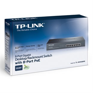 TP-Link TL-SG1008PE 8Port Gigabit PoE Switch