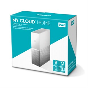WD 3,5 8TB My Cloud Home Beyaz WDBVXC0080HWT